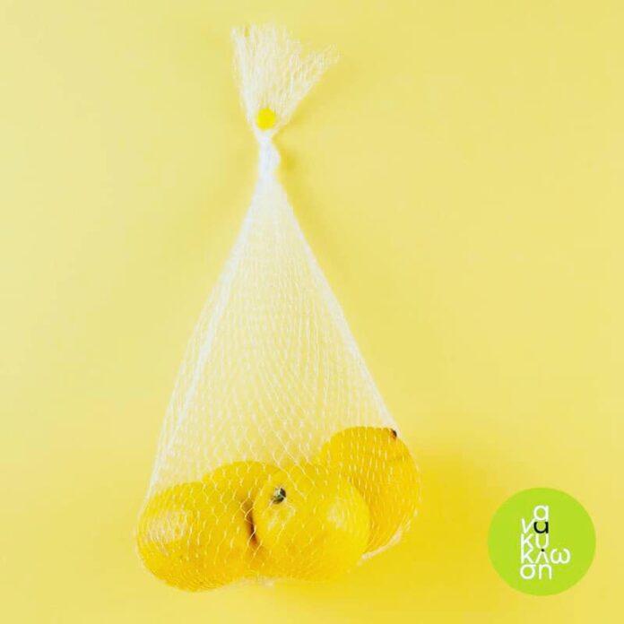 τσάντες εσπεριδοειδών από δίχτυ